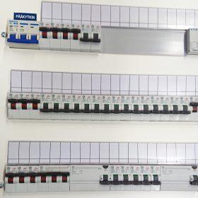 EC-Products Oy sähkökaappi auki pääkytkin